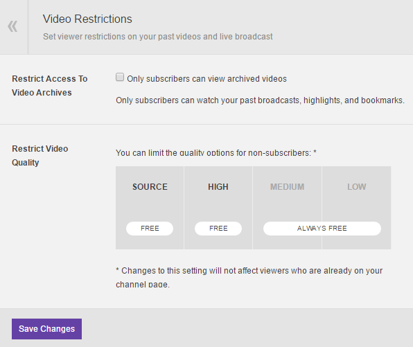 Twitch how to change length of slow mode