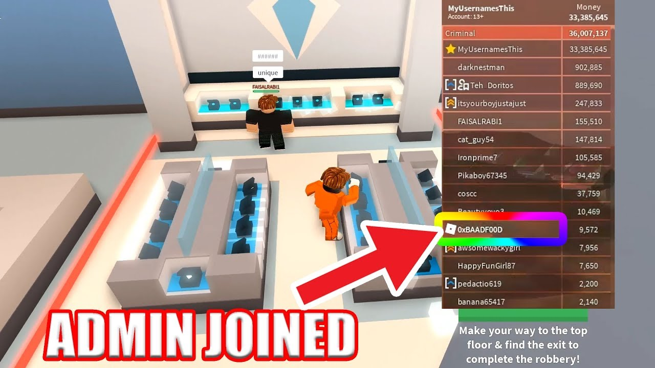 Roblox how to get admin in any game 2018