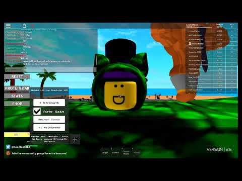 Roblox weight lifting simulator how to become normal