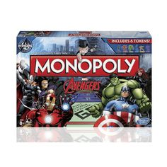 Monopoly marvel avengers instructions