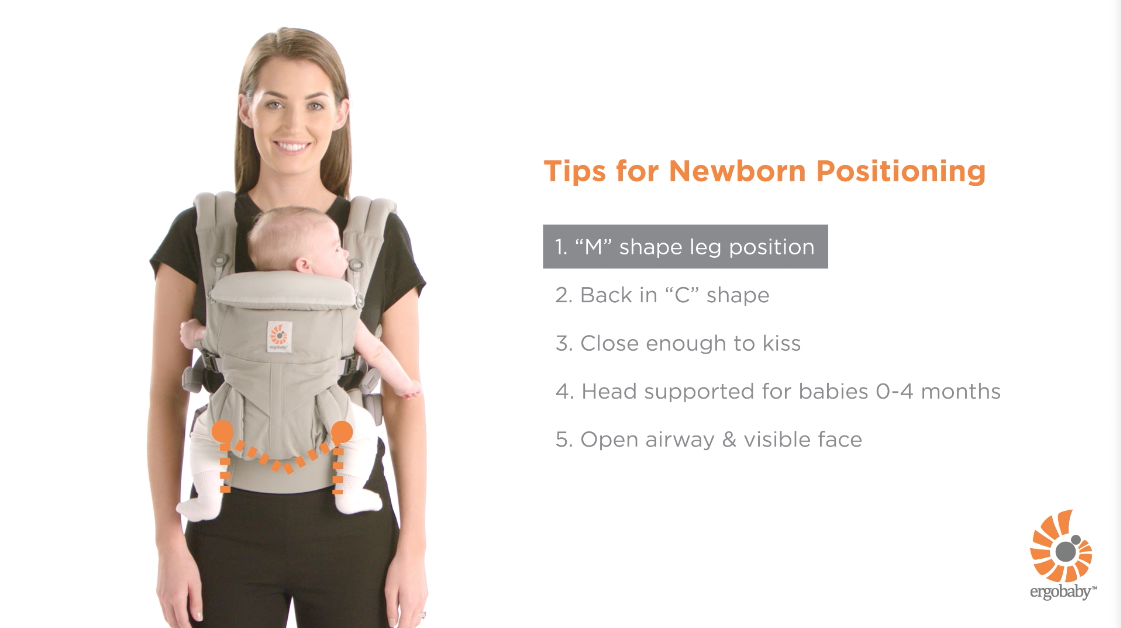 washing instructions for ergo baby carrier