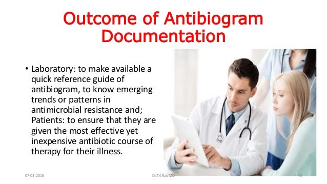 Recent use of antibiotics to guide antimicrobial therapy canada