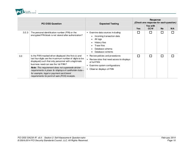 pci dss self assessment questionnaire instructions and guidelines v3 0