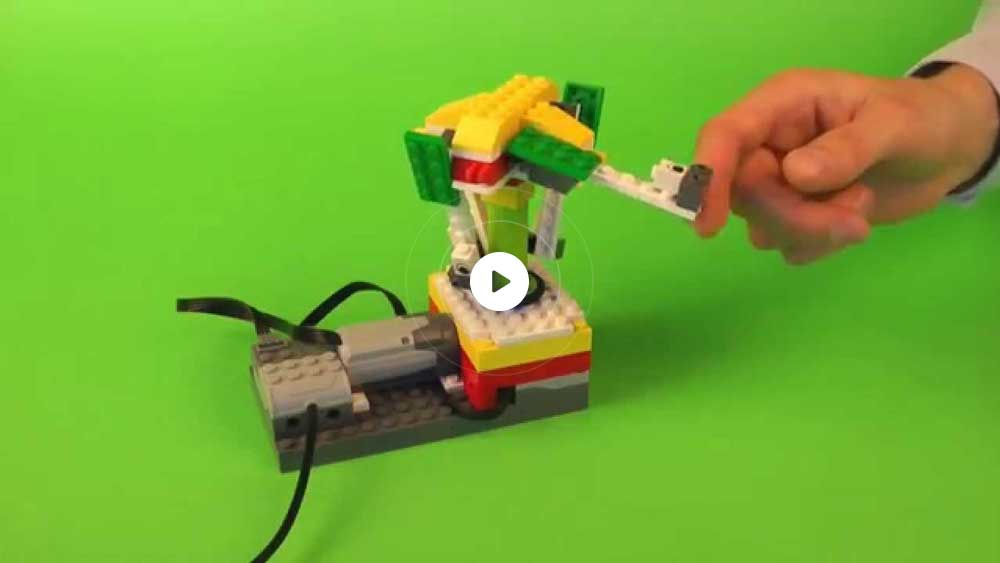 instructions for wedo 2.0 bridge and robot arm