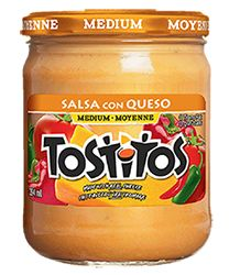 Tostitos salsa con queso heating instructions