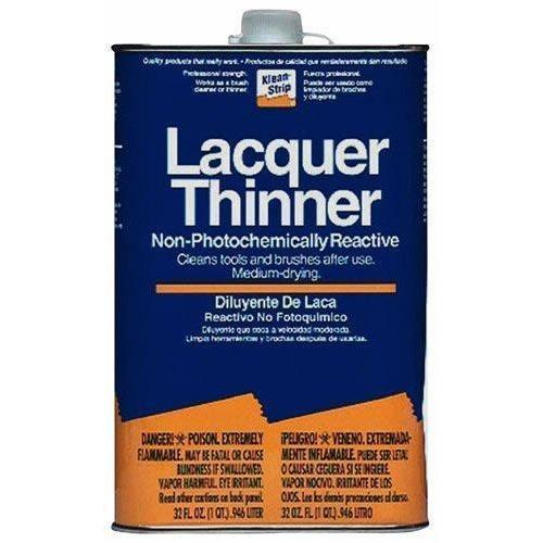klean strip lacquer thinner instructions
