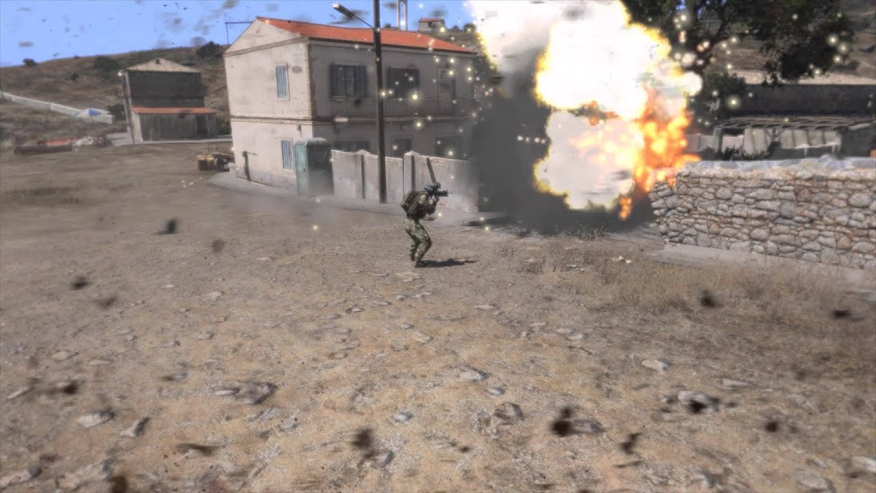 Arma 3 eden how to create suicide bomber