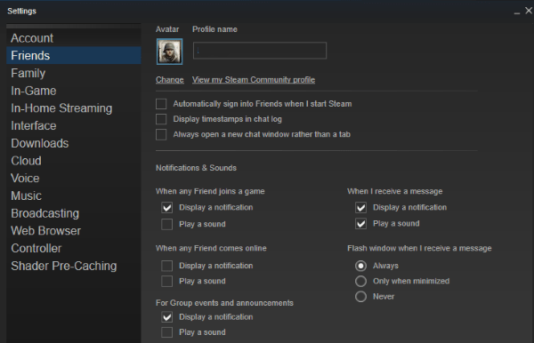 Steam how to change paypal account