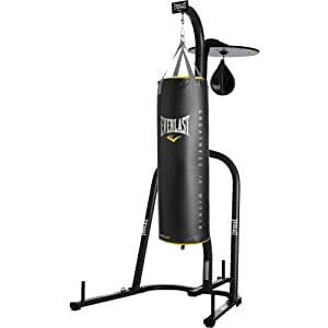 everlast heavy bag speed bag stand assembly instructions