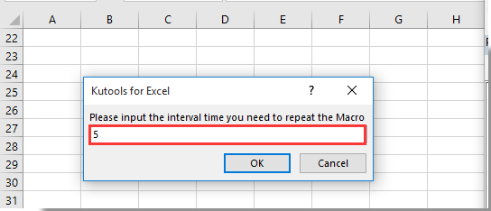 Cue how to create a repeating macro