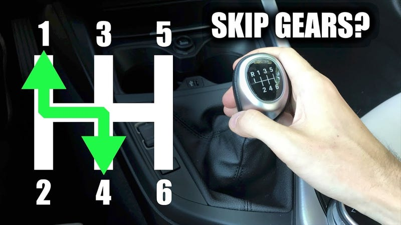 6 speed manual getting into reverse holden