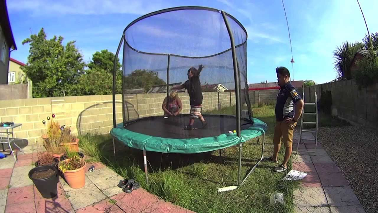Kmart 10ft trampoline instructions